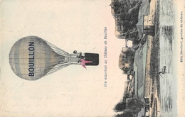 Une Excursion Au Chateau De Bouillon Ballon - Montgolfières
