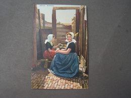 Dorfaufnahme , Photochromie Uvachrom Verlagskarte - Groepen Kinderen En Familie