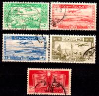 Siria-00154 - Posta Aerea 1946 - 1951 (o) Used - Senza Difetti Occulti. - Siria