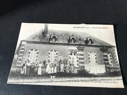 MAROLLES Ecole Des Filles - 1902 Timbrée - Francia