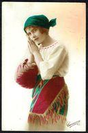 FEMME - CP - Jeune Femme Habillée En Gitane - Circulé - Circulated - Gelaufen - 1925. - Femmes