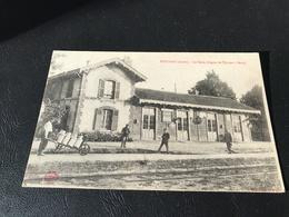 ESTISSAC La Gare (Ligne De Troyes à Sens) - 1919 - Francia
