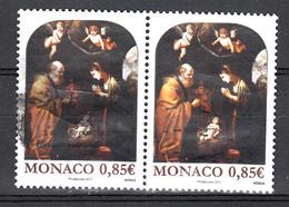 Monaco 2017 Mi Nr 3369, Kerstmis, Christmas - Gebruikt