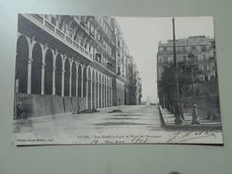 ALGERIE ALGER RUE BORELLI LA SAPIE ET PHARE DE L'AMIRAUTE - Algerien