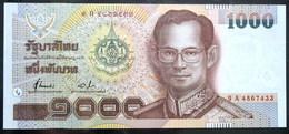 Thailand Banknote 1000 Baht P#104 72th HM King Rama 9 Birthday - Thailand