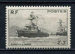 FRANCE 1946 N° 752 ** Neuf MNH Superbe C 1 € Bateaux Boats Ships Navires Transports Oeuvres De La Marine - France