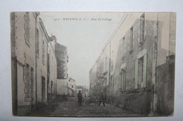 44 : Ancenis - Rue Du Collège  ( Rare ) - Ancenis