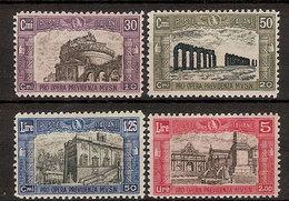 """(Fb).Regno.V.E.III.1928.""""Milizia 2^"""".Serie Di 4 Val Nuovi.Freschi E Ben Centrati (471-16) - 1900-44 Victor Emmanuel III"""