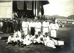 JAPANESE BASEBALL TEAM JAPAN     20* 15 CM Fonds Victor FORBIN 1864-1947 - Deportes