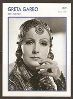 PORTRAIT DE STAR 1932 ETATS UNIS USA - ACTRICE GRETA GARBO MATA HARI - ACTRESS CINEMA - Fotos