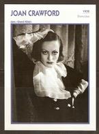 PORTRAIT DE STAR 1932 ETATS UNIS USA - ACTRICE JOAN CRAWFORD GRAND HOTEL - ACTRESS CINEMA - Fotos