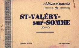 80-SUPERBE CARNET COMPLET DE 10 CPA DE SAINT VALERY SUR SOMME - Saint Valery Sur Somme