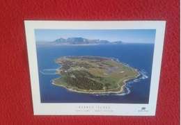 POSTAL POSTCARD South Africa Del Sur Sudafrica Cape Town Robben Island Nelson Mandela Was Imprisoned Apartheid AFRIQUE - Sudáfrica