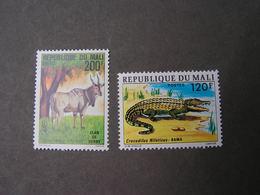 Mali Fauna  2 Old Stamps  527 , 692    ** MNH - Mali (1959-...)