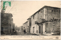 TULETTE  - Avenue D' Orange   (113708) - Autres Communes