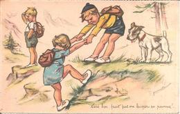 Illustrateur GERMAINE BOURET - Tiens Bon , Faut Pas Me Laisser En Panne !.. (Série 1938 , N° 6) - Bouret, Germaine