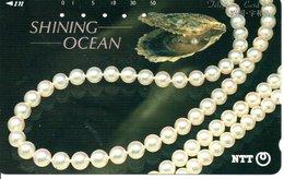 Bijou Jewel SHINING OCEAN Télécarte Phonecard  Telefonkarten G 140) - Japan
