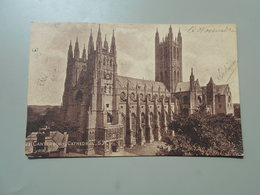 ANGLETERRE KENT CANTERBURY CATHEDRAL - Canterbury