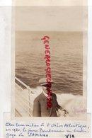 03- DOMPIERRE-BRESIL-PIERRE PERRIN VOYAGE EN AMERIQUE-RIO DE JANEIRO 1920 LE JEUNE BOURBONNAIS AU BASTINGAGE DU SAMARA - - Personnes Identifiées