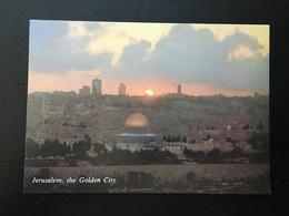 Israel Jerusalen The Golden City - Israel