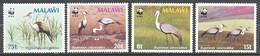 TIMBRE - MALAWI - 1987 - 489/492 - Neuf - Bird - Malawi (1964-...)