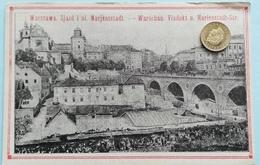 Warschau, Marienstadt-Strasse, Viadukt, Polen, 1915 - Pologne
