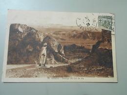 ALGERIE BISKRA PASSAGE DU COL DE SFA - Biskra