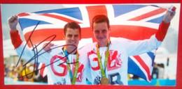 Jonny Brownlee (Triathlon ) - Autógrafos