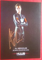 Ali Brownlee (Triathlon) - Autographes