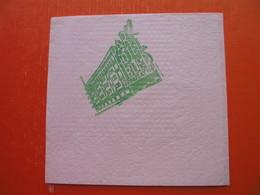 Hotel PARK-BLED(JUGOSLAVIJA) - Papieren Servetten (met Motieven)