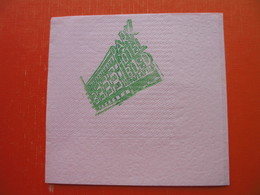 Hotel PARK-BLED(JUGOSLAVIJA) - Serviettes Papier à Motif