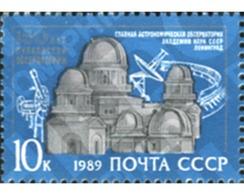 Ref. 358036 * MNH * - SOVIET UNION. 1989. ASTRONOMIC OBSERVATORY . OBSERVATORIO ASTRONOMICO - 1923-1991 UdSSR