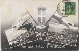 FRONTIERE ITALIE FRANCE 114 - Non Classés