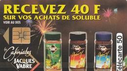 TELECARTE 50...JACQUES VABRE   LES CAFERIALES - 50 Unités