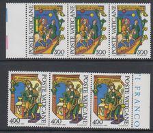 Vatican City 1980 Alberto Magno 2v Strip Of 3 ** Mnh (42717B) - Ongebruikt