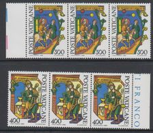 Vatican City 1980 Alberto Magno 2v Strip Of 3 ** Mnh (42717B) - Vaticaanstad
