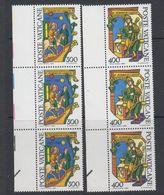 Vatican City 1980 Alberto Magno 2v Strip Of 3 ** Mnh (42717C) - Ongebruikt