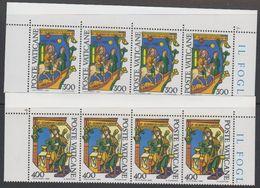 Vatican City 1980 Alberto Magno 2v Strip Of 4 ** Mnh (42717D) - Vaticaanstad