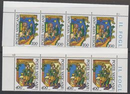 Vatican City 1980 Alberto Magno 2v Strip Of 4 ** Mnh (42717D) - Ongebruikt