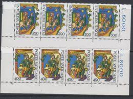 Vatican City 1980 Alberto Magno 2v Strip Of 4 ** Mnh (42717E) - Ongebruikt
