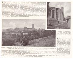 1924 - Iconographie - Lombez (Gers) - Vues - FRANCO DE PORT - Vieux Papiers