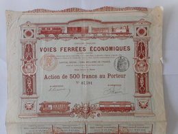 TOP DEKO VOIES FERREES Economiques - Actions & Titres