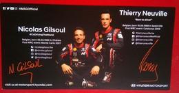 Hyundai Motorsports Nicolas Gilsoul And Thierry Neuville - Autorennen - F1