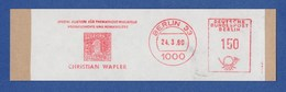 BRD AFS - BERLIN, Christian Wapler - Spezial Auktionen Für Thematische Philatelie 1980 - Filatelia & Monete
