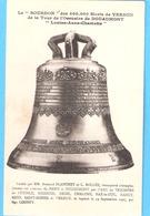 Militaria-Guerre 1914-1918-Le Bourdon (cloche)de La Tour De L'Ossuaire De Douaumont à Verdun-écrite 5 Sept.1927 à Reims - War 1914-18