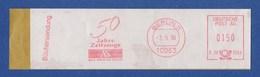 BRD AFS - BERLIN, 50 Jahre Zeitzeuge - Axel Springer Verlag 1996 - Machine Stamps (ATM)