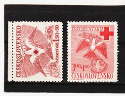 Post286 TSCHECHOSLOWAKEI CSSR 1949 MICHL 599/00 ** Postfrisch SIEHE ABBILDUNG - Tschechoslowakei/CSSR