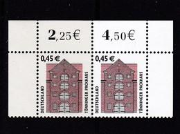 BRD, Waagerechtes Paar Nr.2299**. (T 11759) - [7] República Federal
