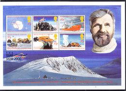British Antarctic Territory (BAT) 2000 Sir Vivian Fuchs M/s ** Mnh (42718) Promotion - Ongebruikt