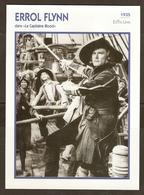 PORTRAIT DE STAR 1935 ETATS UNIS USA - ACTEUR ERROL FLYNN LE CAPITAINE BLOOD - ACTOR CINEMA - Fotos